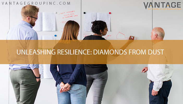 Unleashing resilience: Diamonds from dust