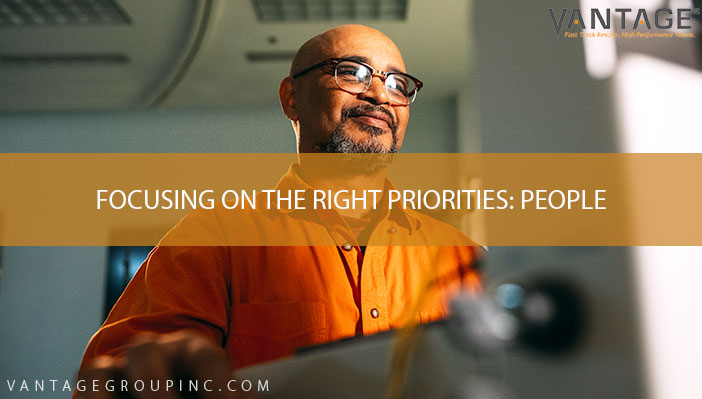 Focusing on the Right Priorities: People