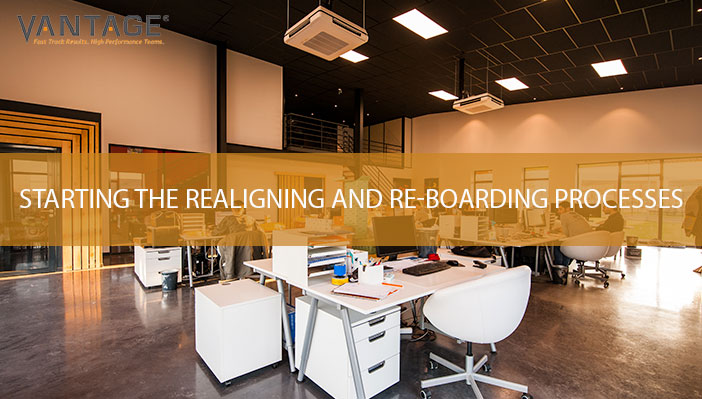 Starting the Realigning and Re-boarding Processes